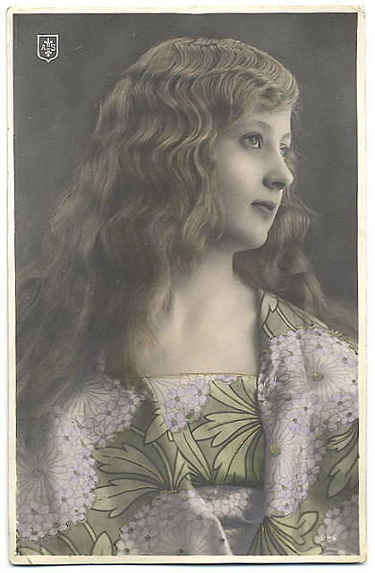 Vintage Ladies Cabinet Cards (283)