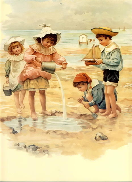 3024703587 d10c8610ba Children at the seashore O