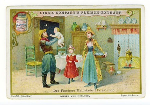 3025520628 299bc3eefe 1900 Cod Liver OIl Dutch fisherman and family O