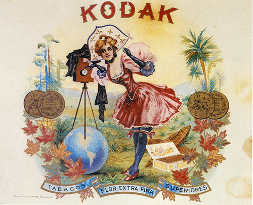 Kodak Cigar Box Lid x