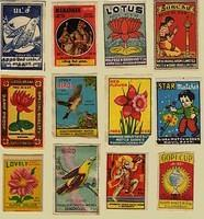 Vintage matchboxes (5)