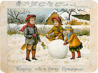 4188610030 5c69f21123 WISHING YOU HAPPY CHRISTMAS VINTAGE CARD x