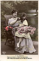 Vintage Ladies Cabinet Cards (102)