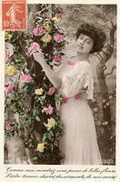 Vintage Ladies Cabinet Cards (14)