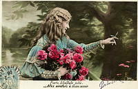 Vintage Ladies Cabinet Cards (16)