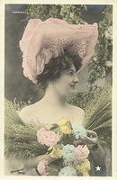 Vintage Ladies Cabinet Cards (170)