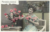 Vintage Ladies Cabinet Cards (19)
