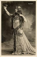 Vintage Ladies Cabinet Cards (192)