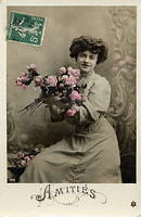 Vintage Ladies Cabinet Cards (193)