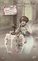 Vintage Ladies Cabinet Cards (208)