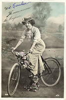 Vintage Ladies Cabinet Cards (23)