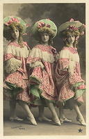 Vintage Ladies Cabinet Cards (252)