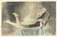Vintage Ladies Cabinet Cards (259)