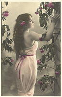 Vintage Ladies Cabinet Cards (279)
