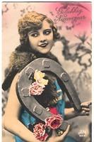 Vintage Ladies Cabinet Cards (286)
