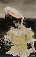 Vintage Ladies Cabinet Cards (291)
