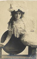 Vintage Ladies Cabinet Cards (295)
