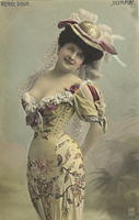 Vintage Ladies Cabinet Cards (306)
