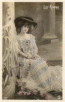 Vintage Ladies Cabinet Cards (37)
