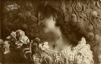 Vintage Ladies Cabinet Cards (38)