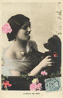 Vintage Ladies Cabinet Cards (42)