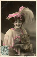 Vintage Ladies Cabinet Cards (43)