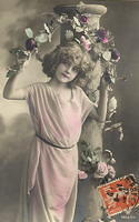 Vintage Ladies Cabinet Cards (45)