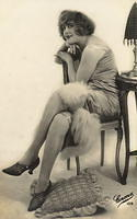 Vintage Ladies Cabinet Cards (55)