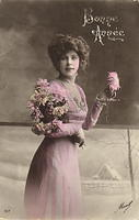 Vintage Ladies Cabinet Cards (58)
