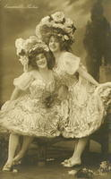 Vintage Ladies Cabinet Cards (60)