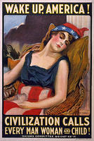 3249095558 e96fc4f41b 1917 - Wake Up America Civilization Calls Every Man Woman and Child James Montgomery Flagg O