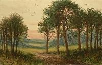 4005762718 c62f03b23a Miniature watercolour by F Martines Hulk. - Towards evening 1900s O