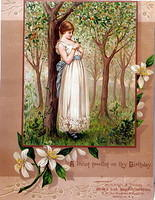 4281449937 8109178c4d 1880s Victorian Birthday Card O