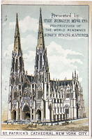 4282188656 0891126f7b 1880s Victorian Trade Card Saint Patrick s Cathedral O