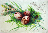 4285608626 070c3c840d 1880s Victorian Easter Card L
