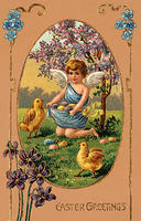 4439128754 45d534cf21 Easter angel with eggs and chicks O