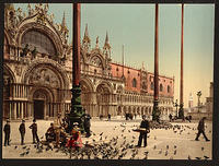 Antique Postcard - Venice Italy x